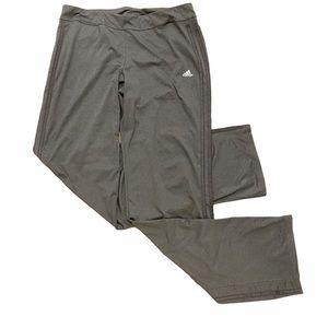 🔥4/$25🔥Adidas Workout Pants Climalite Grey Y2K